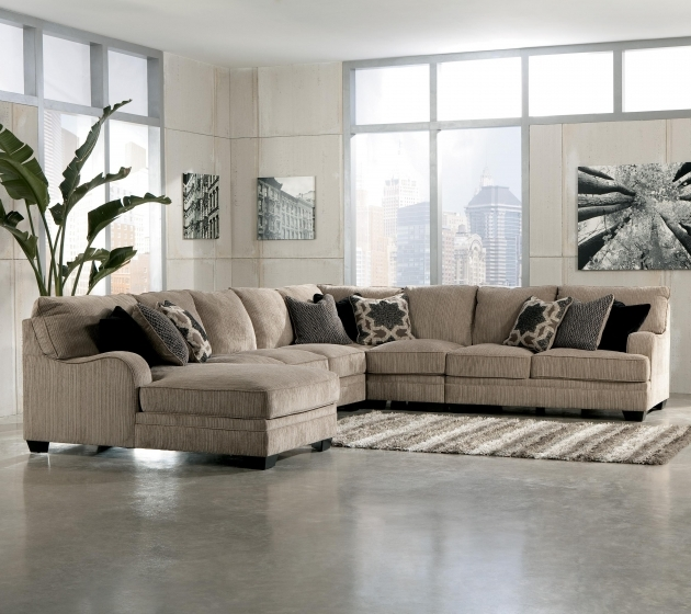 5 Piece Sectional Sofa With Chaise Design Ashley Katisha Platinum Ideas Images 17