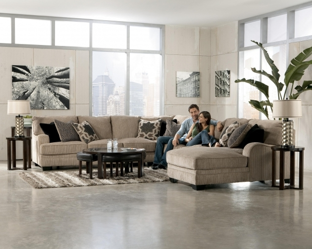 5 Piece Sectional Sofa With Chaise Design By Ashley / Color / Katisha Picture 51