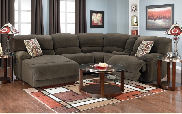 5 Piece Sectional Sofa With Chaise Microsuede Sectional Brown The Brick Photos 22