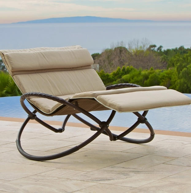 Chaise Lounge Cushions Double Ideas Outdoor Home Design Pic 05