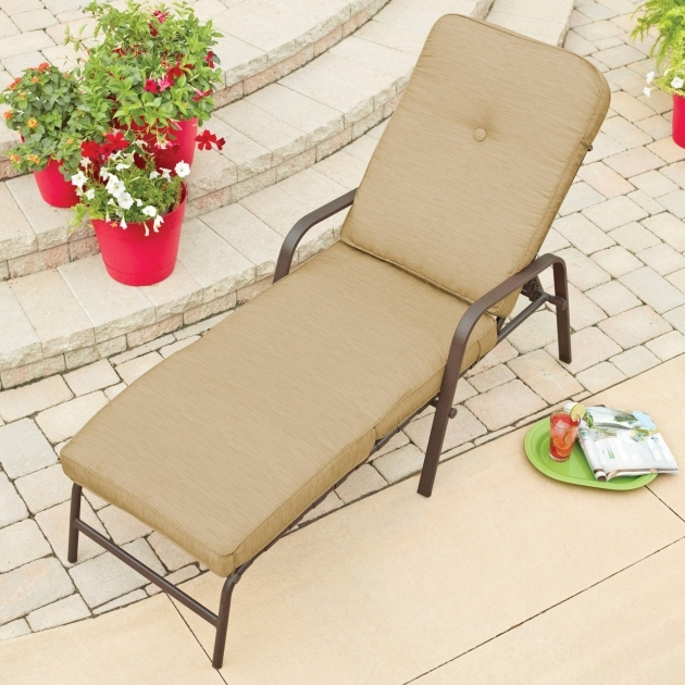 Chaise Lounge Cushions Mainstays Lawson Ridge Lounger Picture 98