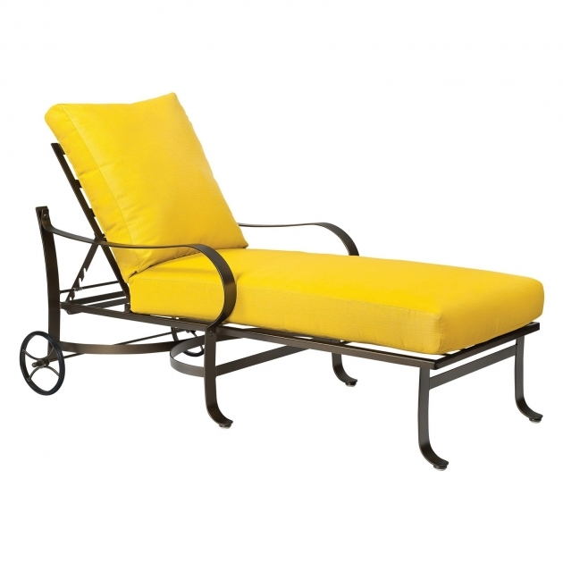 Chaise Lounge Cushions Yellow Design Ideas Photo 10