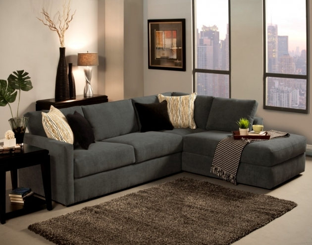Charcoal Gray Sectional Sofa With Chaise Lounge Cushion Inspiration Pics 54