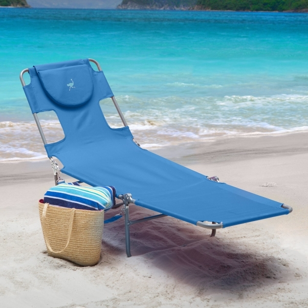 Folding Chaise Lounge Ostrich Outdoor Image 17