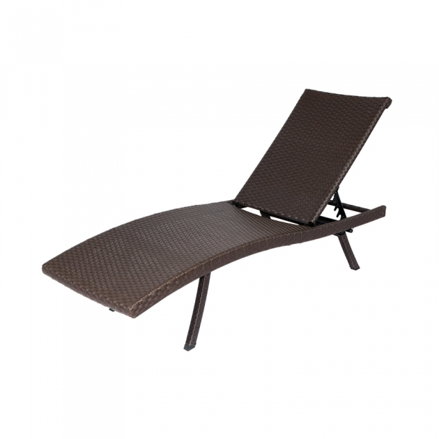 Folding Chaise Lounge Shop Allen Roth Brown Wicker Folding Chair Photos 22
