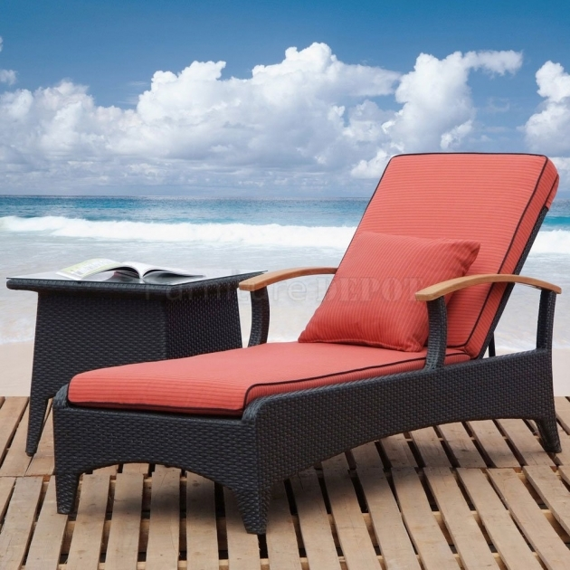 Modern Outdoor Chaise Lounge Chairs Home And Exterior Design Picture