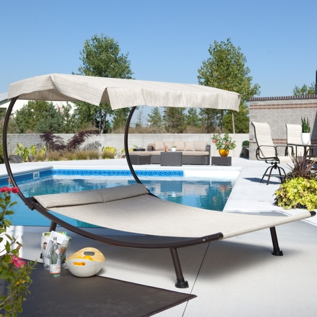 Outdoor Chaise Lounge Chairs Double Picture