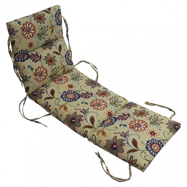 Outdoor Chaise Lounge Cushions Lowes Custom Floral Chaise Side  Image 70