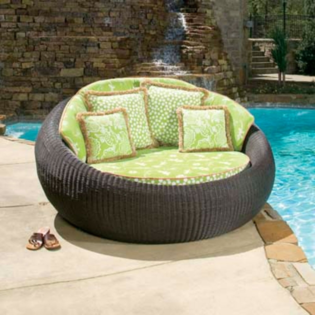 Patio Chaise Lounge Outdoor Furniture Wicker  Images 91