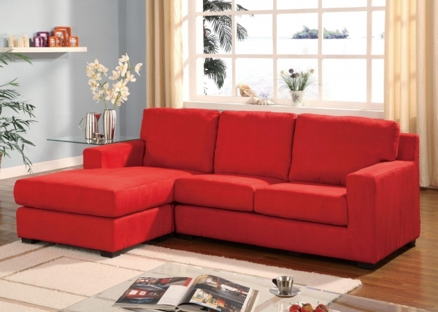 Red Leather Chaise Lounge Design Ideas Images 35