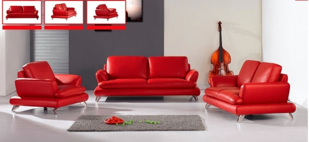 Red Leather Chaise Lounge Durable Italian Sofa Ideas For Living Room Photo 40