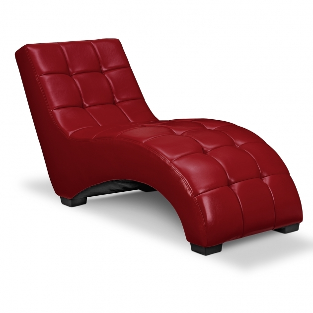 Red Leather Chaise Lounge Ideas Design Pictures 94