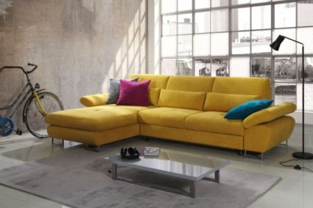 Sleeper Sofa with Chaise
