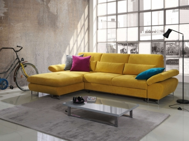 Sleeper Sofa With Chaise Bed Yellow Cool Home Decor Images 81