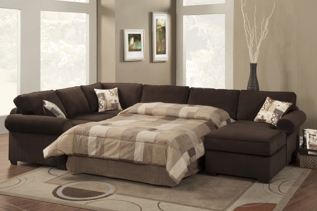 Sofa Bed With Chaise Southwestern Style Brown Sectional Sofas Image 06