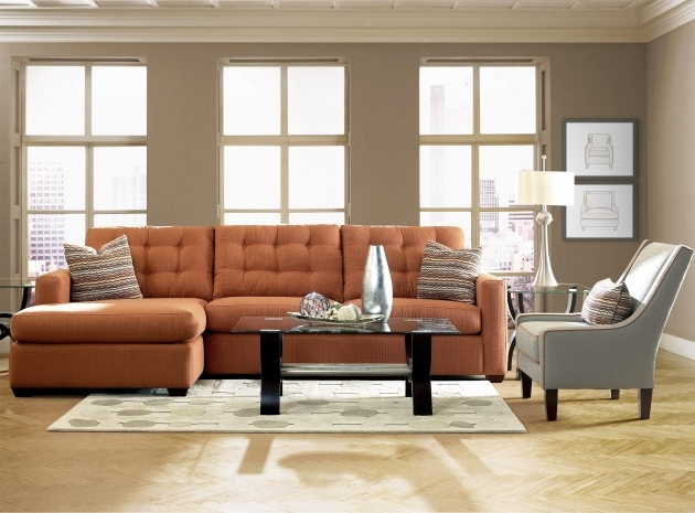 Sofa With Chaise Lounge Klaussner Lido Contemporary Sectional Sofas With Left Facing Chaise Photo 41