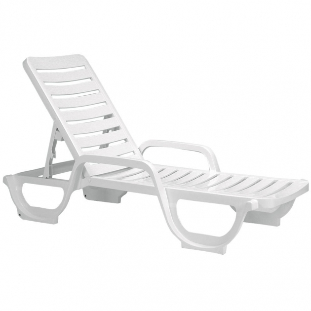 Adams chaise lounge resin patio cheap plastic outdoor for Acrylic chaise lounge