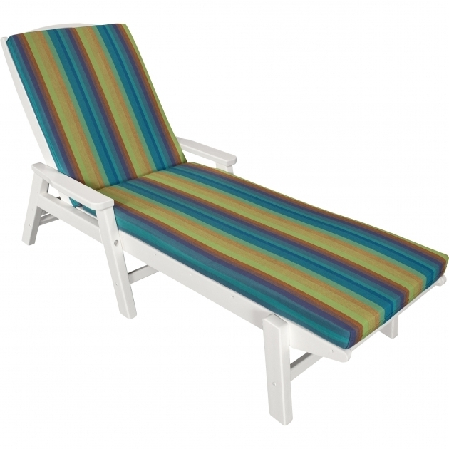 Ateeva Outdoor Sunbrella Chaise Lounge Cushions XUF010 Stripe Pictures 55