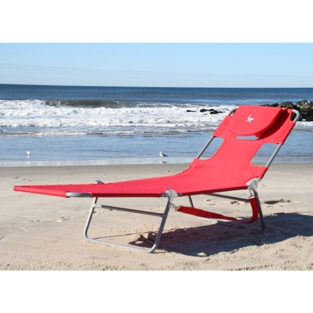Beach Ostrich Chair Folding Chaise Lounge Face Down Photo 66