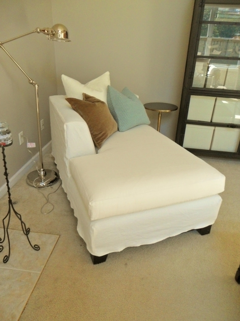 Indoor Chaise Lounge Slipcover