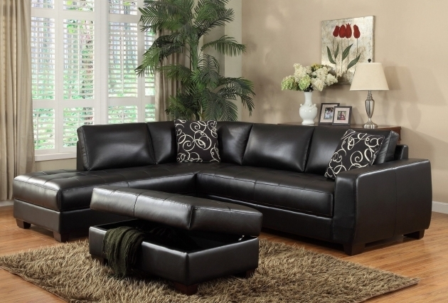 Black Leather Sectional Sleeper Sofa With Chaise Images jolenesart89