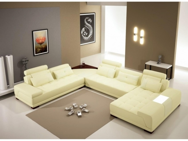 Chaise Lounge Couch White Ceramic Flooring Tile With Grey Soft Carpet Image 96