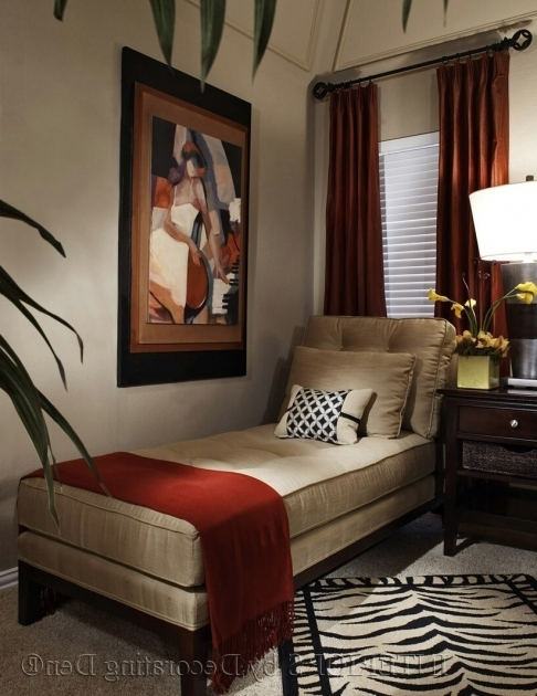 Chaise Lounges For Bedrooms Interior Design For Home Ideas With Red Throw And Zebra Print Area Rug Pictures 50