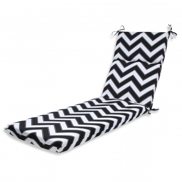 Chevron Black And White Chaise Lounge Cushions Cheap Photos 69