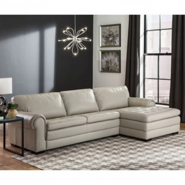 Dalton Leather Sofa Chaise Picture jolenesart62