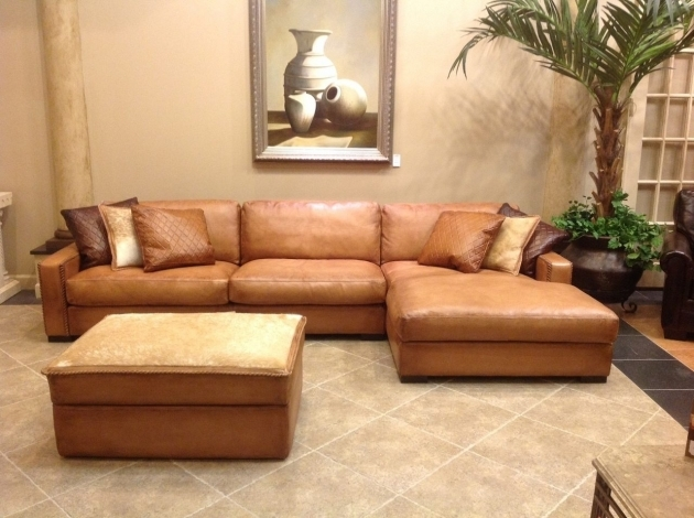 Deep Sectional Sofa With Chaise Furniture Brown Leather Extra Deep Recliner Picture 13