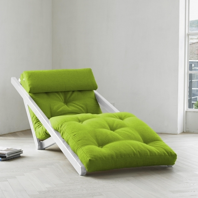 Figo Futon With Chaise Lounge Green Photos 07
