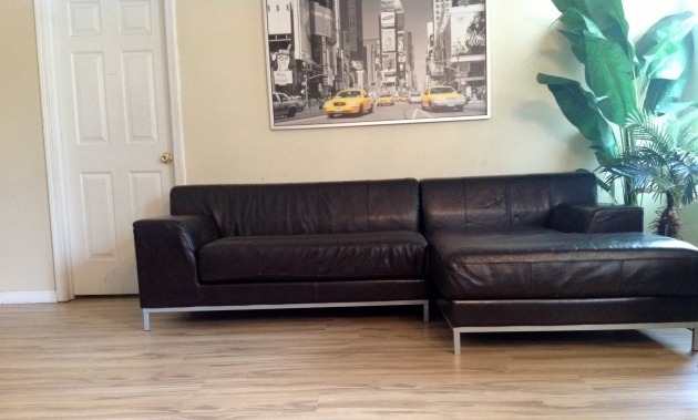 Genuine Leather Sectional With Chaise Ikea Kramfors L Shape Photo 35