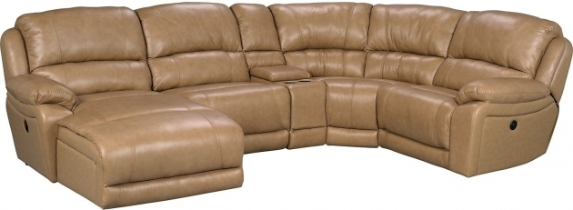 Genuine Leather Sectional With Chaise Piece Left Facing Photo 56