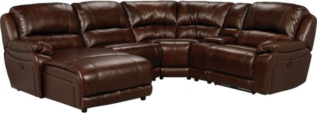 Genuine Leather Sectional With Chaise Sofa Picture 38