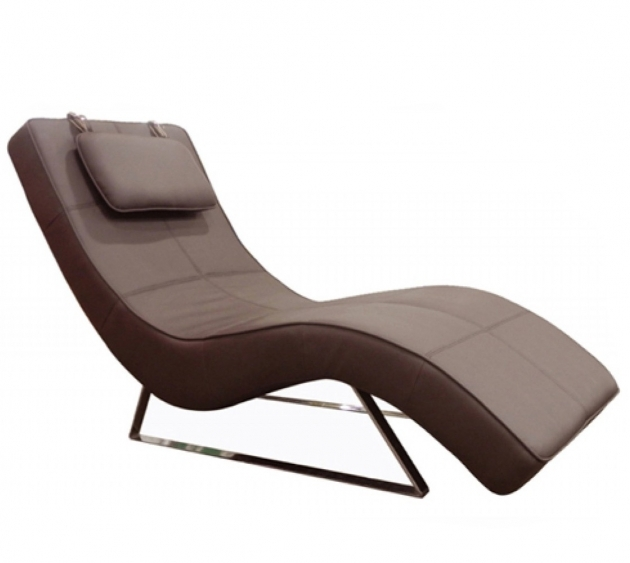 Indoor Leather Chaise Lounge Image 97