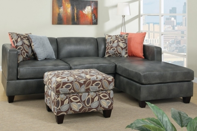 L Shaped Gray Sectional Sofa With Chaise Short Black Wooden Base Added By Square Cushions Photos 84