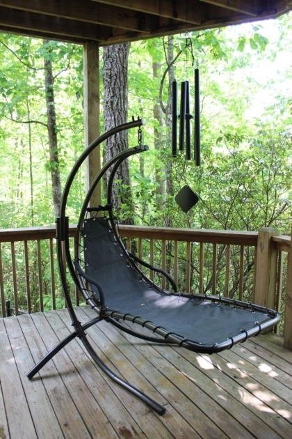 Laurel Ridge Hanging Chaise Lounge Chair Large  Photos 80