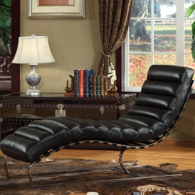 Leather Chaise Lounge Chair Style Photos 62