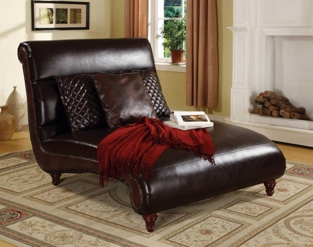 Leather Oversized Chaise Lounge Sofa Indoor  Images 27