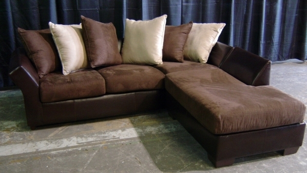 Leather Sofa Chaise Traditional Style Image jolenesart22