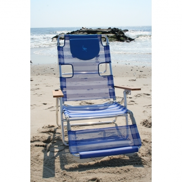 Ostrich Chair Folding Chaise Lounge 3 In 1 Beach Blue Image 84