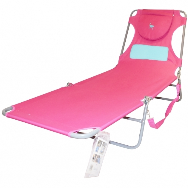 Ostrich Chair Folding Chaise Lounge Pink Backpack Beach Chairs Image 40