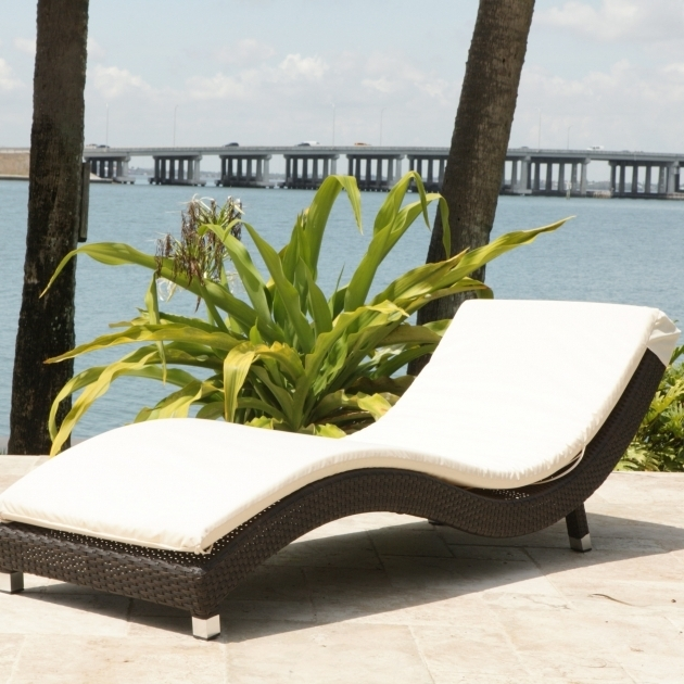 Outdoor Chaise Lounge Chair White And Black Ikea Applied On The Cream Floor Photos 44