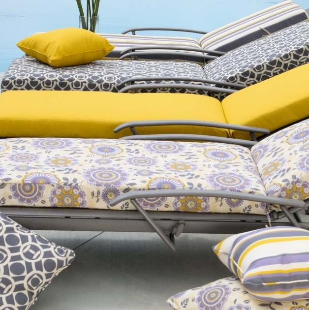 Outdoor Chaise Lounge Cushion Covers Photos 13