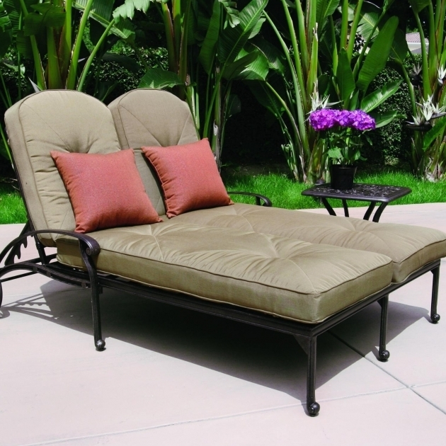 two person chaise lounge darby home co luther with cushion dbhc8280 two person chaise lounge 45. Black Bedroom Furniture Sets. Home Design Ideas