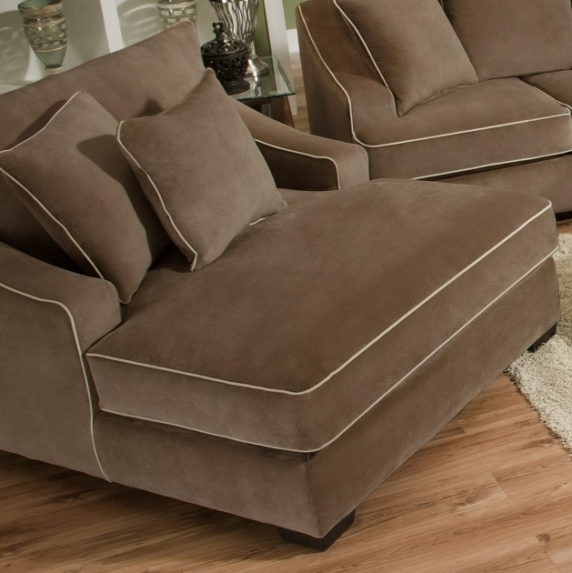 Oversized Chaise Lounge Sofa Home Furniture Image 12