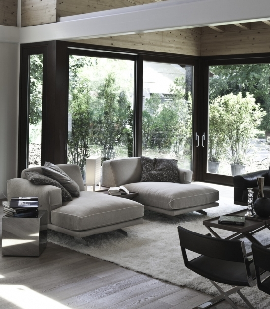 Oversized Chaise Lounge Sofa Patio  Contemporary Ideas With Area Rug Photos 07