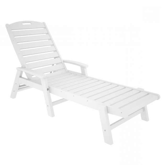 Plastic Chaise Lounge Chairs Cheap Shop Trex Outdoor Furniture Yacht Club Classic White Picture 89