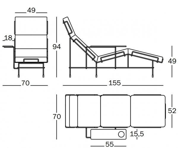 Chaise Lounge Dimensions | Chaise Design
