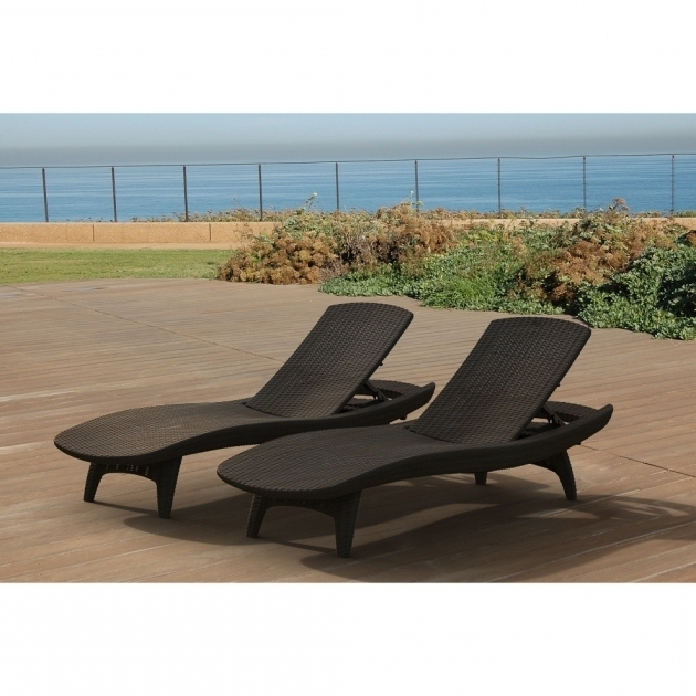 Resin Plastic Chaise Lounge Chairs Cheap Outdoor Furnitures Photo 11